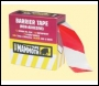 Everbuild Barrier Tape - Red/white - 72mm X 500mtr - Box Of 8