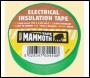 Everbuild Electrical Insulation Tape - White - 19mm X 33mtr - Box Of 48