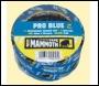 Everbuild Pro Blue Masking Tape - Blue - 50mm X 33mtr - Box Of 24