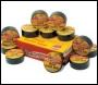 Everbuild Value Gaffa Tape - Black - 50mm X 50mtr - Box Of 12