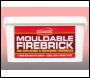 Everbuild Mouldable Firebrick - - - 12.5kg - Box Of 1