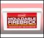 Everbuild Mouldable Firebrick - - - 5kg - Box Of 1