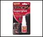 Everbuild All Purpose Superglue Bottle - Clear - 5gm - Box Of 6