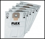 Fleece Filter Bags to suit Flex Giraffe VCE 35 (per 5 pack)