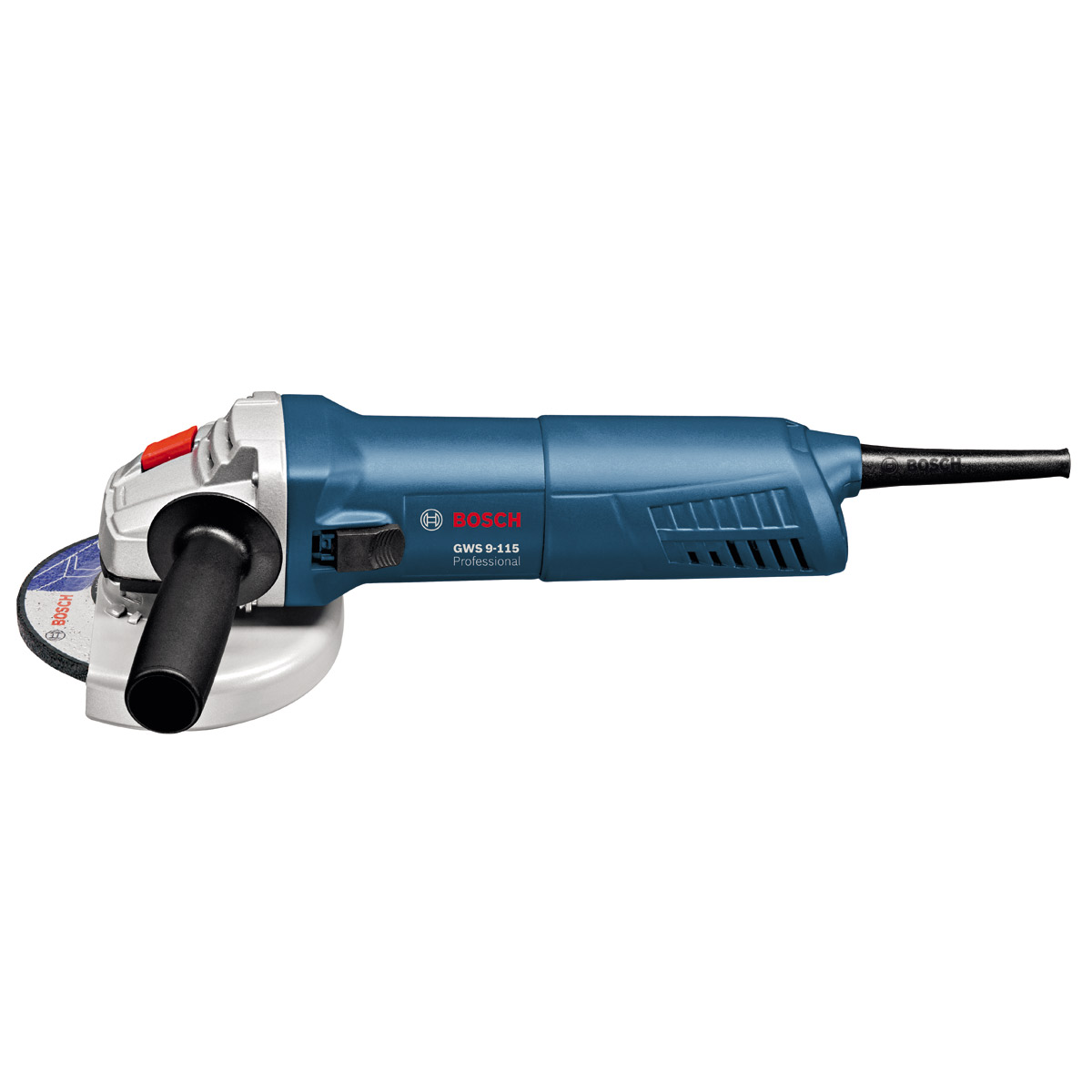 bosch gws 9115 4 1 2 115mm angle grinder with slim grip. Black Bedroom Furniture Sets. Home Design Ideas