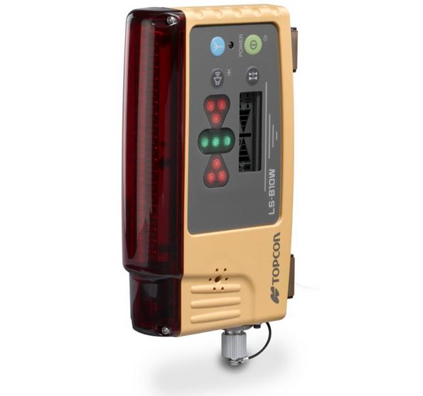 machine mounted laser receiver