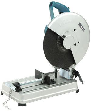 makita 2414b portable cut off chop saw 355mm blade 110. Black Bedroom Furniture Sets. Home Design Ideas