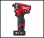 Milwaukee M12 FUEL™ Sub Compact ¼″ Hex Impact Driver - M12 FID-0