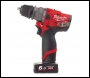 Milwaukee M12 FUEL™ Sub Compact Percussion Drill With Removable Chuck - M12 FPDX