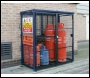 Folding Gas Bottle Storage Cage - 1800mm x 1800mm x 900mm