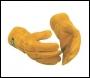 Pro Tan, Curved Welding Gauntlet, Tan Leather - SGA400-XL - XL
