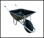 Constructor Wheelbarrow (Pneumatic Tyre) - BA1P30 - 85ltr - Black