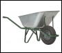 Galvanised Heavy-Duty Wheelbarrow (Pneumatic Tyre) - BA2H108 - 120ltr