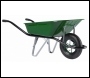 Professional Wheelbarrow (Pneumatic Tyre) - BA2H42 - 90ltr - Green