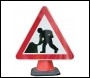 Road Works Cone Sign - RE6CRW - 750mm
