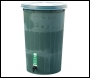 Water Butt comes with Lid & Tap - WB1P50 - H 920mm x Dia 640mm / 225Ltr - Black