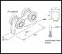 Unistrut P2750-1 Channel Trolly Assemblies Dual 80mm