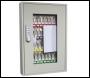 Phoenix Keysure KC0403E 50 Hook Clear View Key Cabinet with Electronic Code Lock