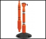 Skipper Post & Base - Orange