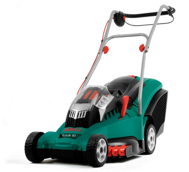 bosch rotak 43 li ergoflex cordless lawnmower 187 product