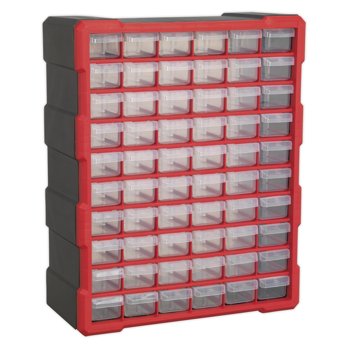 Sealey Apdc60r Cabinet Box 60 Drawer Red Black Product