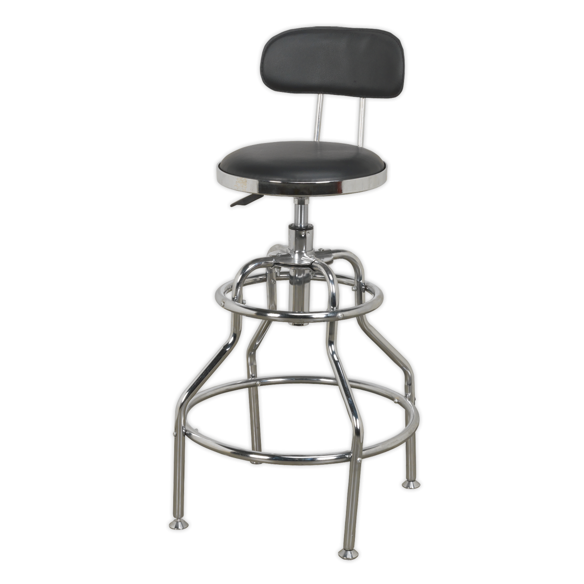 Sealey Scr14 Workshop Stool Pneumatic With Adjustable