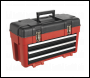 Sealey AP1003 Toolbox 585mm 3 Drawer Portable