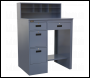 Sealey AP990 Industrial Workstation 4 Drawer - Grey