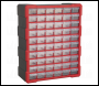 Sealey APDC60R Cabinet Box 60 Drawer - Red/Black