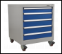 Sealey API5657A Mobile Industrial Cabinet 5 Drawer