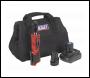 Sealey CP1202KIT Ratchet Wrench Kit 3/8 inch Sq Drive 12V Li-ion - 2 Batteries