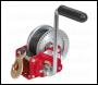 Sealey GWW1200B Geared Hand Winch with Brake & Webbing 540kg Capacity