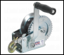 Sealey GWW1200M Geared Hand Winch 540kg Capacity with Webbing Strap