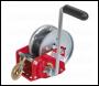 Sealey GWW2000B Geared Hand Winch with Brake & Webbing 900kg Capacity