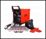 Sealey MM190COMBO Professional Gas/No-Gas MIG Welder 190Amp with Euro Torch Combo