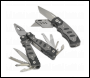 Sealey PK27 Multi-Tool & Twin Blade Knife Set 2pc 15-Function