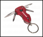 Sealey PK33 Multi-Tool Key Chain with LED Light