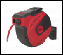 Sealey SA823 Air Hose Reel Auto-Rewind Control 20m Ø10mm ID - Rubber Hose