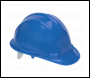 Sealey SSP17B Safety Helmet Blue BS EN 397