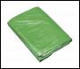 Sealey TARP2040G Tarpaulin 6.10 x 12.19m Green