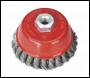 Sealey TKCB100 Twist Knot Wire Cup Brush Ø100mm M14 x 2mm