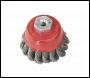 Sealey TKCB65 Twist Knot Wire Cup Brush Ø65mm M10 x 1.5mm