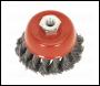 Sealey TKCB651 Twist Knot Wire Cup Brush Ø65mm M14 x 2mm