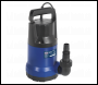 Sealey WPC100 Submersible Water Pump 100L/min 230V