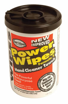 Everbuild Power Wipes Heavy Duty Hand Cleaning Wet Wipes
