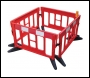 JSP Titan Safety Barrier Kit - 4no x 2m Barriers