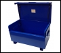TradeSafe TS 4 x 2 x 2 Site Box with Hydraulic Arms - Blue