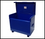 TradeSafe TS 4 x 3 x 2 Site Box with Hydraulic Arms - Blue