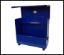 TradeSafe TS 5 x 4 x 2 Tool Vault with Hydraulic Arms - Blue