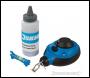 Silverline 3:1 Fast Rewind Chalk Line Set 3pce - 30m - Code 250571